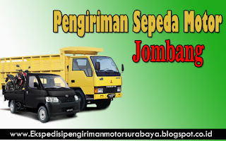JASA PENGIRIMAN SEPEDA MOTOR SURABAYA-JOMBANG