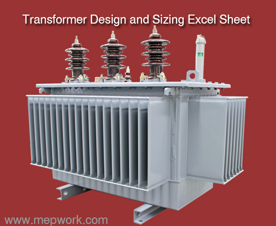 Distribution Transformer Design and Sizing Excel Sheet