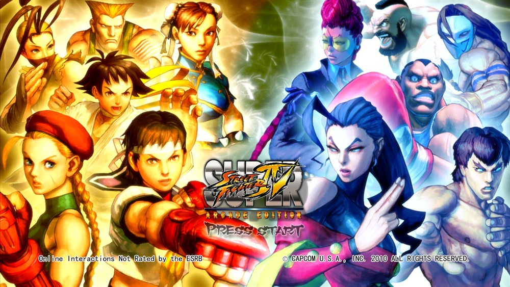 Super Street Fighter 4 PC Download Poster