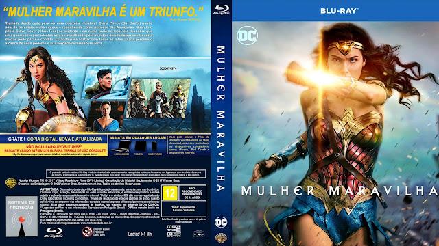Capa Bluray Mulher Maravilha [Exclusiva]