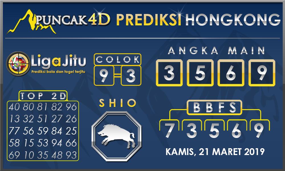 PREDIKSI TOGEL HONGKONG PUNCAK4D 21 MARET 2019