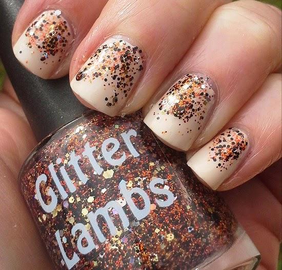 Pumpkin Bread Glitter Lambs Nail Polish