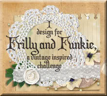 Frilly and Funkie Challenge Blog Design Team Lead