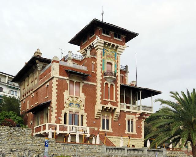 Villa Chiossone, Corso Italia, Genoa