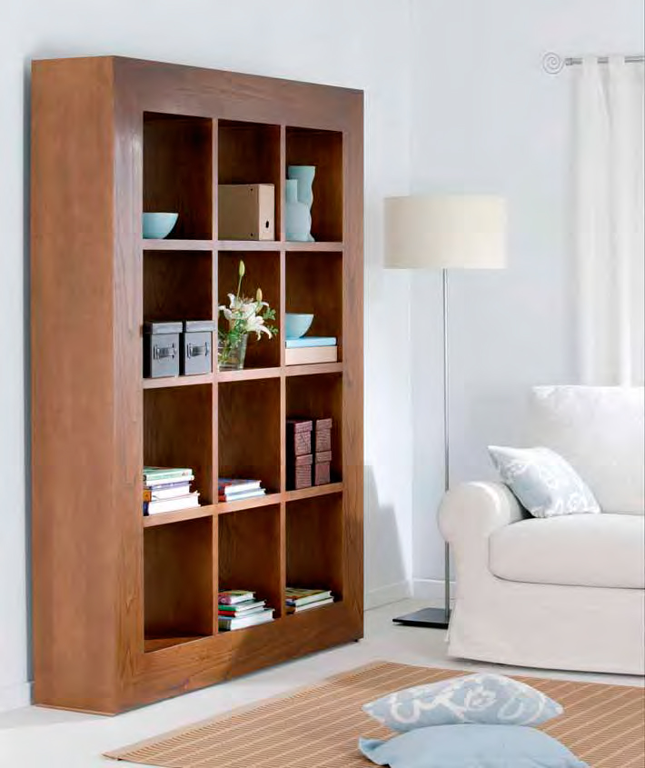 Muebles de sal n librerias para ordenar el salon for Muebles librerias para salon