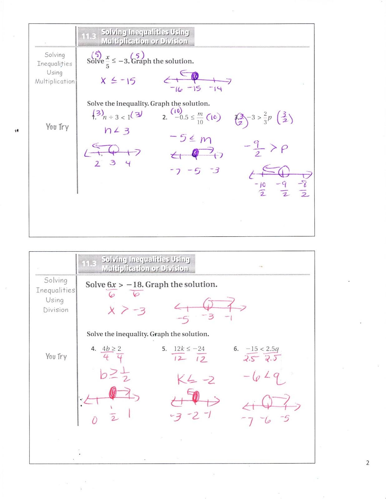 Ms Jean S Accel 7 Blog 11 3 Solving Inequalities Using