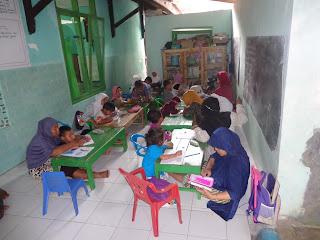 Gambar2 mPembelajaran TPQ PAUD / DTI Shidiqiin Wara`Purwojati-Banyumas