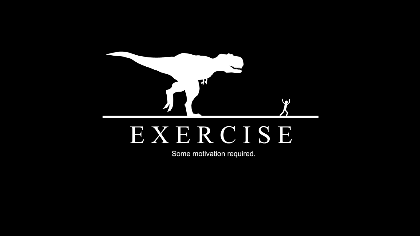 Exercise, some motivation required. T-rex