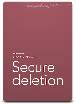Secure deletion O&O SafeErase 11