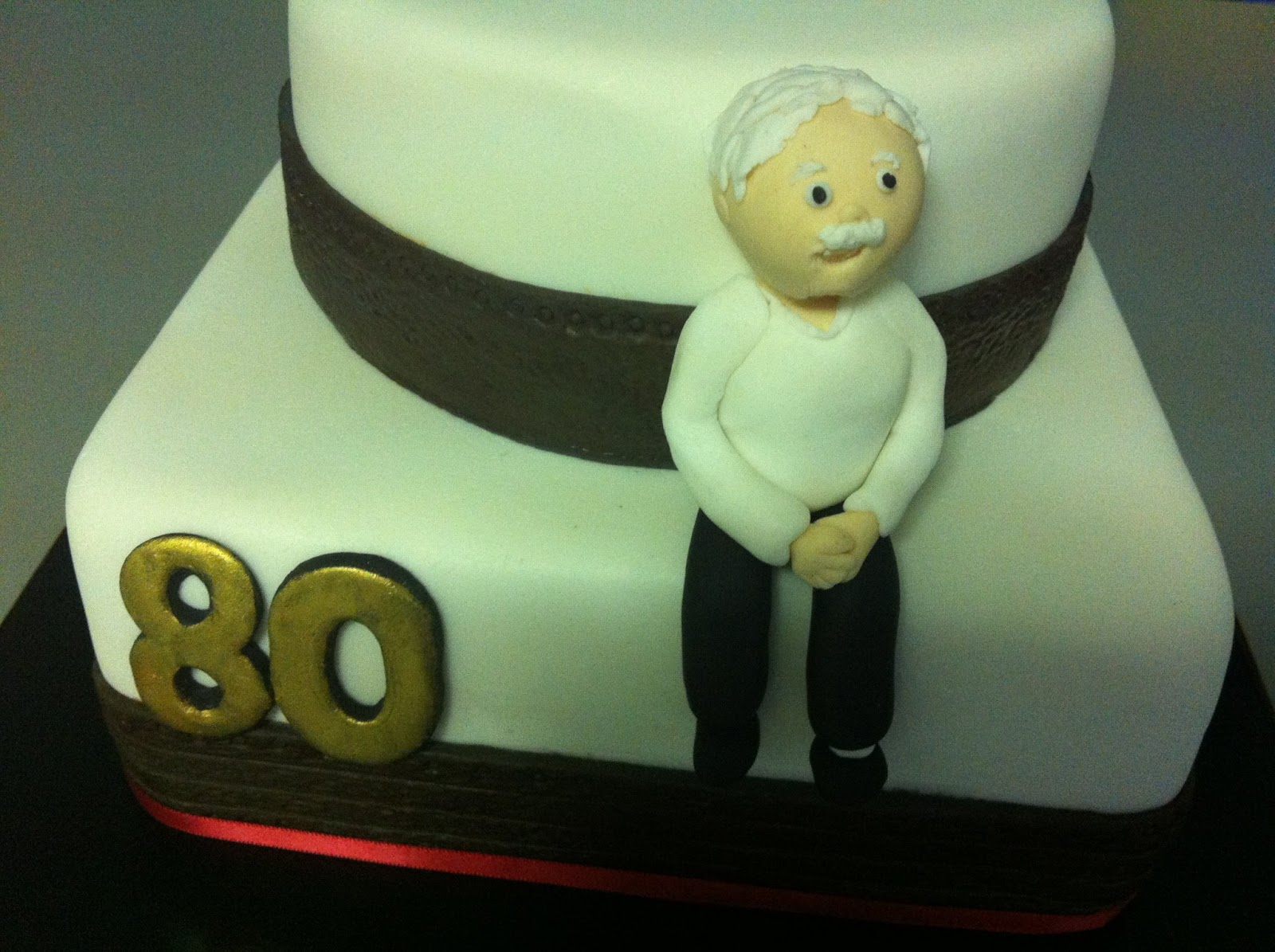 Birthday Cake 80 Year Old Man