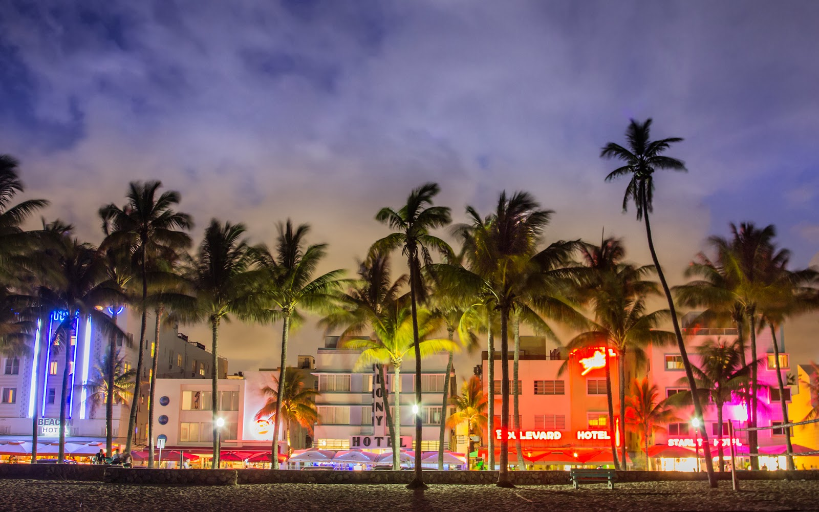 City Miami Florida View Wallpaper South Beach