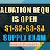 Revaluation Request is Open-B.Tech S1,S2 and B.Tech S3,S4 Supplementary Examinations