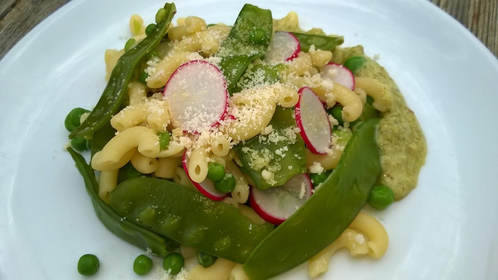 Mes Julie gourmandises: Salade de pâtes aux petits pois, pesto ... - Salade Pates Pesto