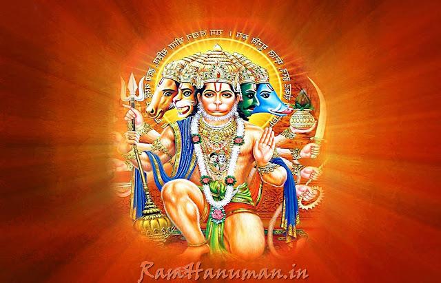 .Best Hd Wallpaper Of Panchmukhi Hanuman