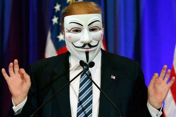 Anonymous melawan Donald Trump, rilis nomor Telephone White House
