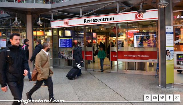 Deutsche Bahn Oficina de Información en la estación de Munich