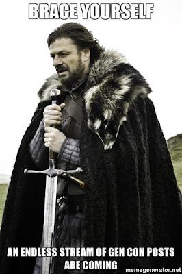 Ned Stark Gen Con posts meme