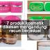 Elak beli 7 produk kosmetik ini yang mengandungi racun berjadual - KKM