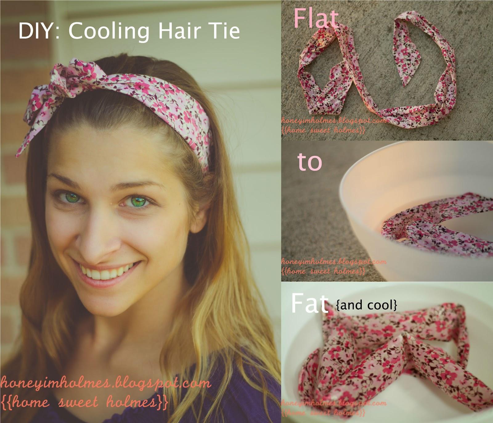 Cool Diy Hair: Home Sweet Holmes: DIY Cooling Hair Tie