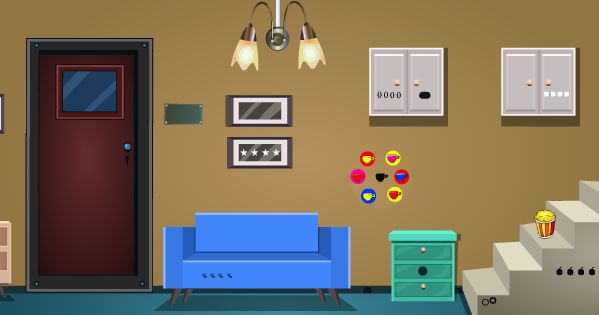 GenieFunGames Easy Single Room Escape Walkthrough