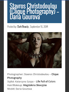 Publications on darkbeautymag