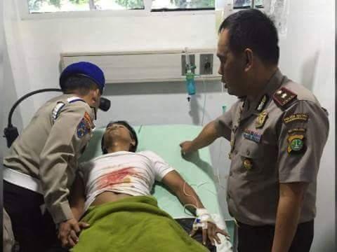 Bripka Saefudin Terpaksa Diangkat Ginjalnya, Karena Tembakan Begal Ranmor