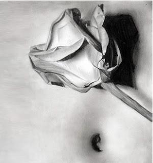 Karakalem ile çiçek nasıl çizilir