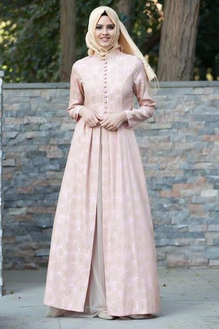 Model Baju Gamis Muslimah Untuk Pesta dan Lebaran