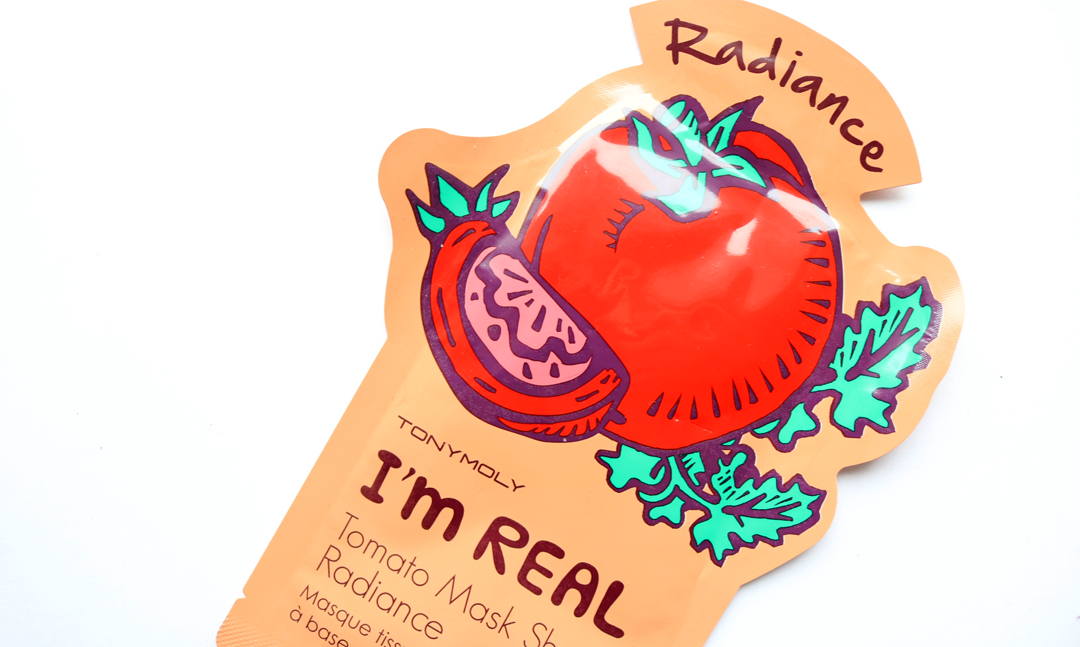 Tony Moly I'm Real Tomato Radiance Sheet Mask