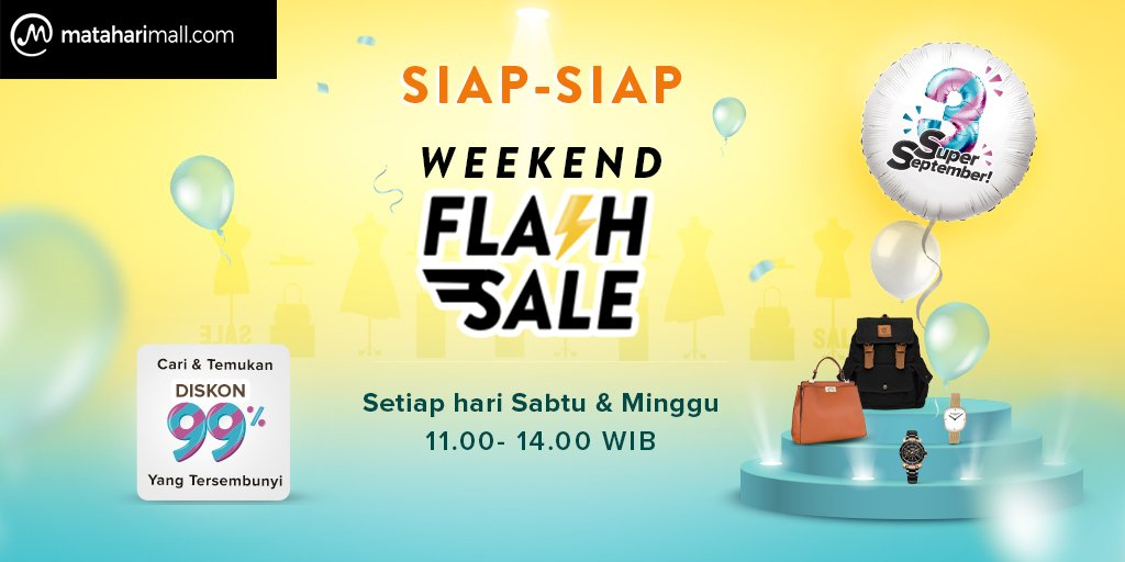 MatahariMall - Promo Weekend Flash Sale + Cari Diskon Tersembunyi s.d 99%