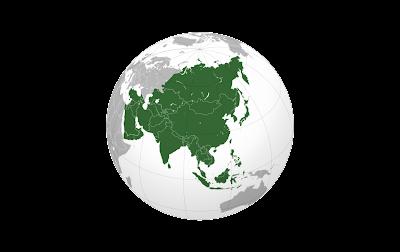 Bahasa Arab nama-nama negara Asia