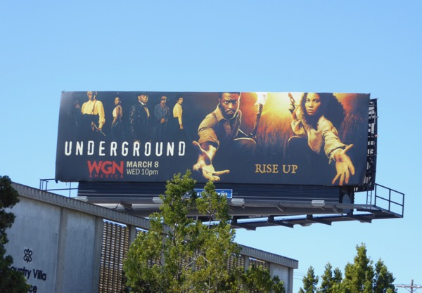 Underground season 2 Rise up billboard