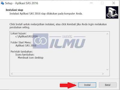 Cara Instalasi Aplikasi SAS 2016