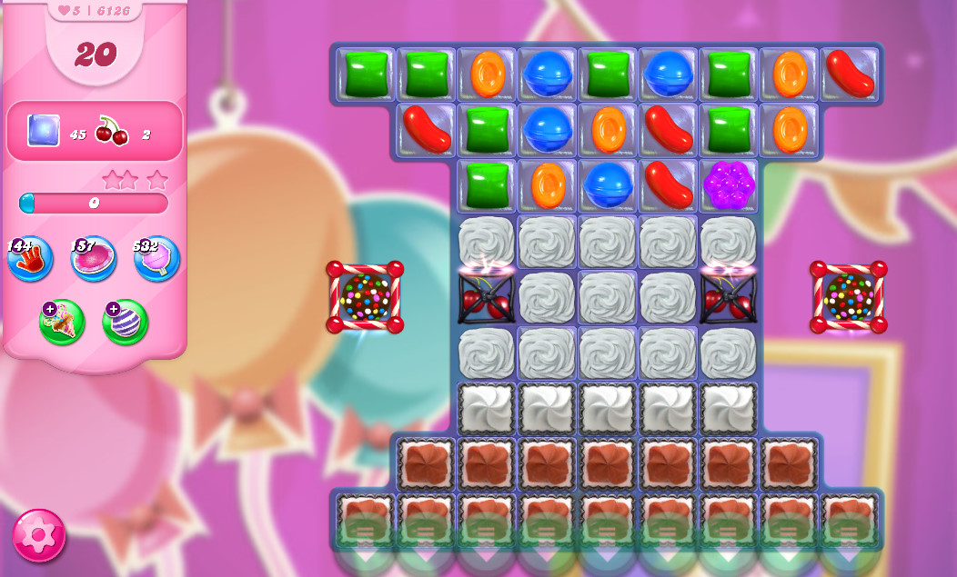 Candy Crush Saga level 6126