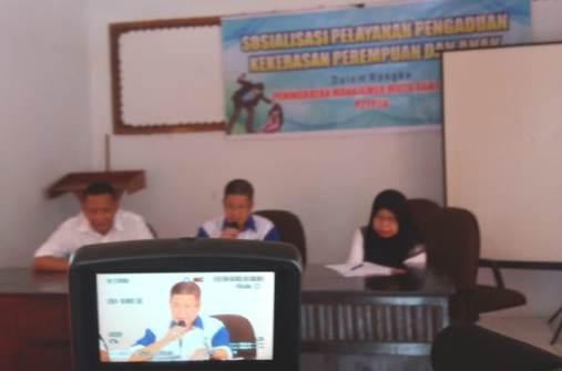 Kadis P3AP2KB Buka Sosialisasi, Pengaduan Kekerasan Perempuan dan Anak Di Bontomanai