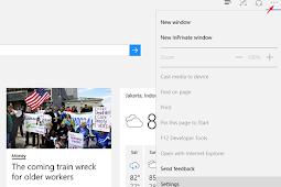 Cara Membersihkan History Bowser Microsoft Edge