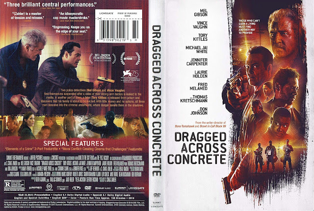 Dragged Across Concrete DVD DVD Cover