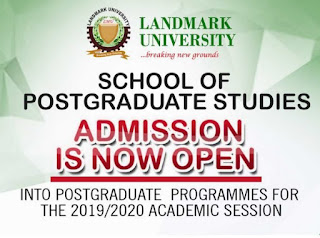 LMU Postgraduate Admission Form 2019/2020 | PGD, M.Sc, & PhD