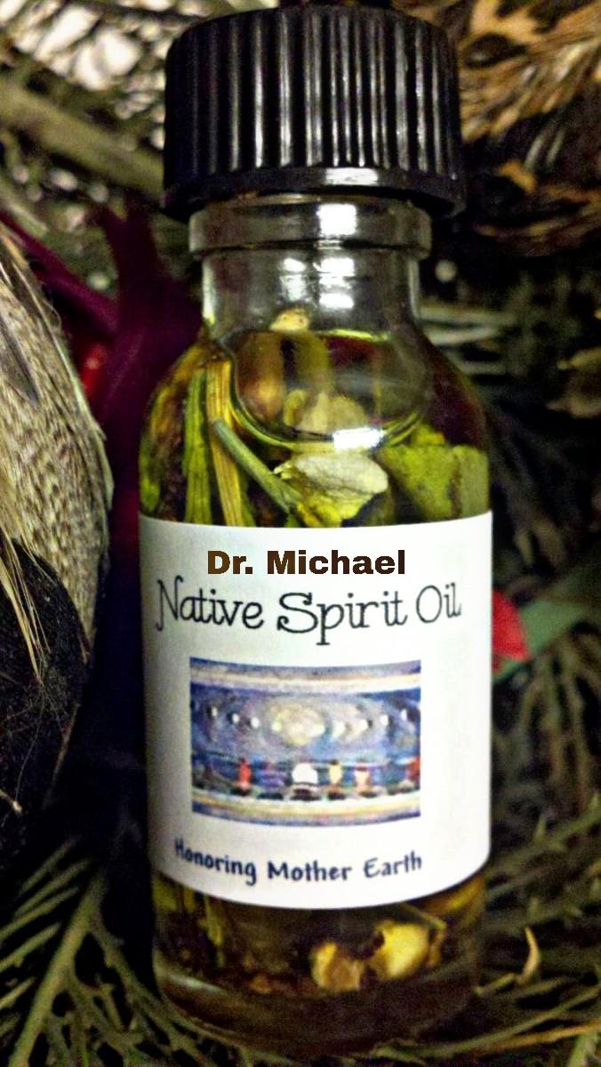 DR. MICHAEL NATIVE SPIRIT OIL