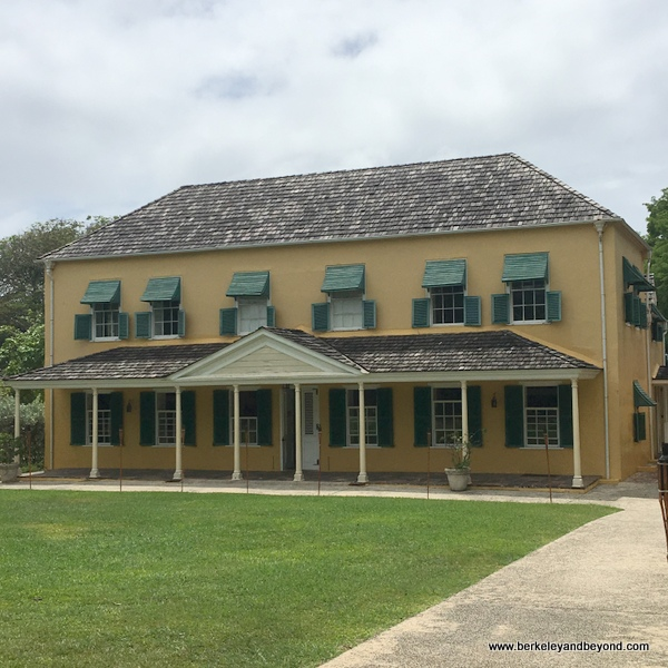 exterior of George Washington House Museum in Bridgetown, Barbados