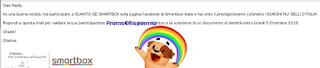 Logo Gioca e vince gratis uno dei Cofanetti Smartbox ''I Borghi più belli d'Italia''