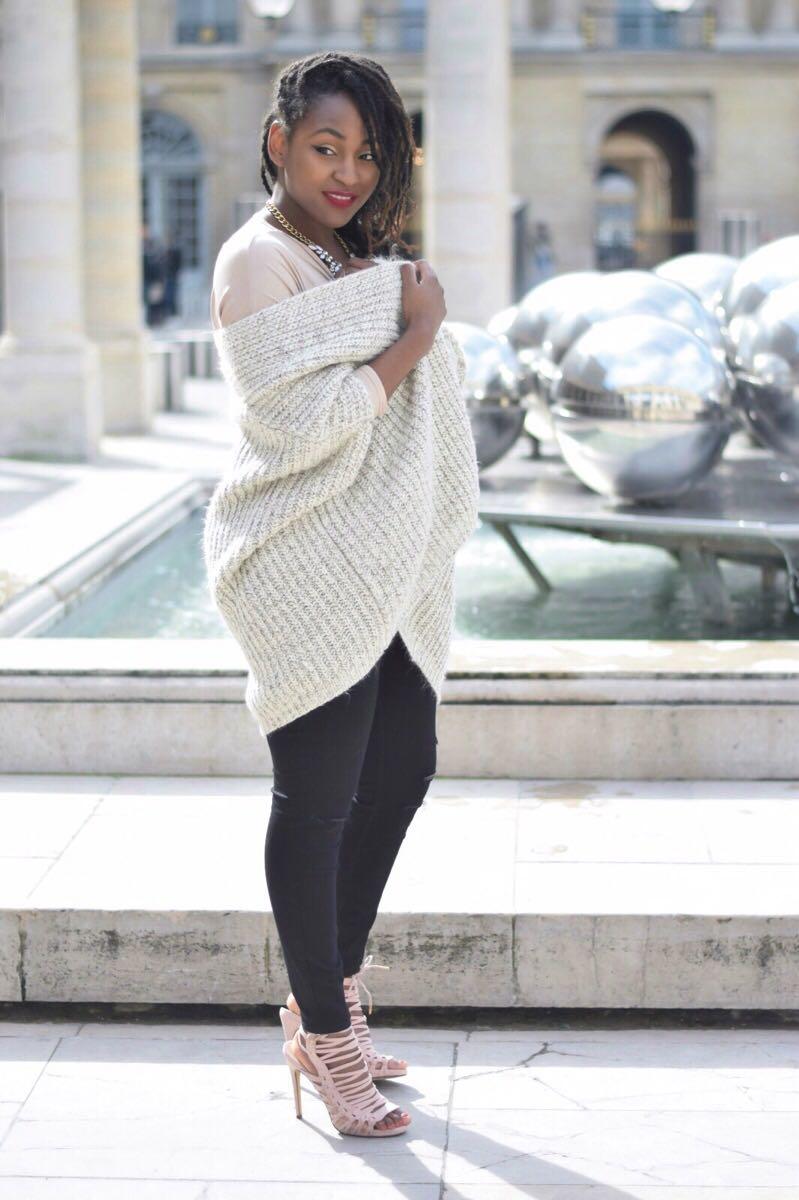 Gilet Primark - Top Asos - Jean New Look
