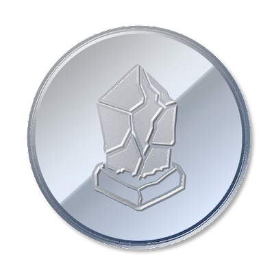 仮想通貨Liskのフリー素材(アルミver)