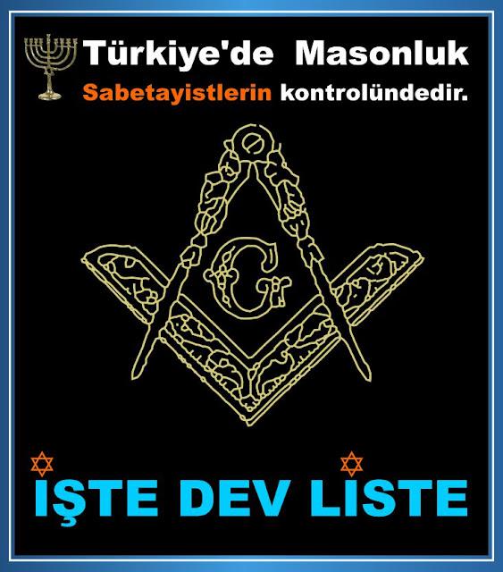 adnan oktar, sabetaycılık, masonluk, liste, mossad, israil
