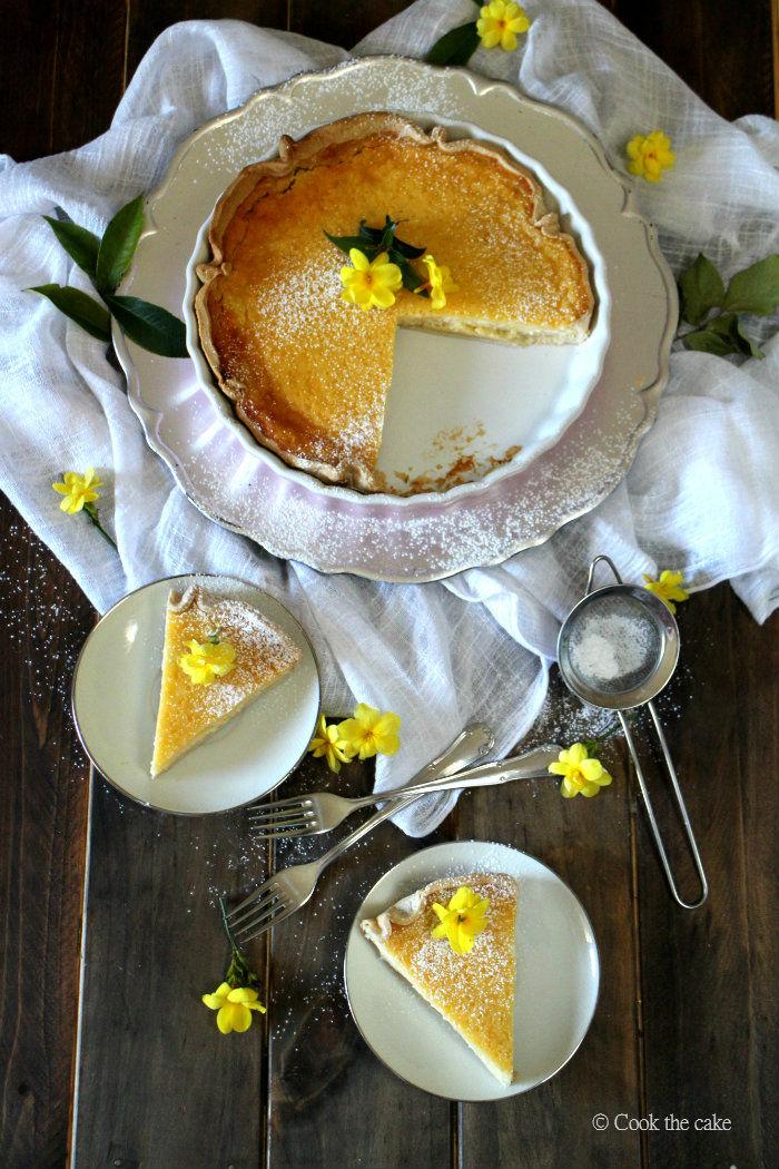 presnac, pastel de requeson