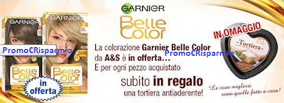 Logo Belle Color ti regala la Tortiera Antiaderente