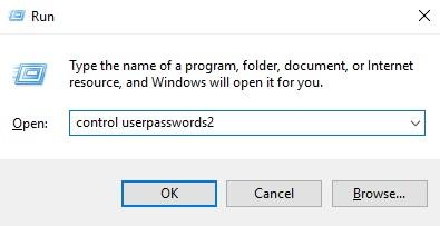 Hilangkan Password