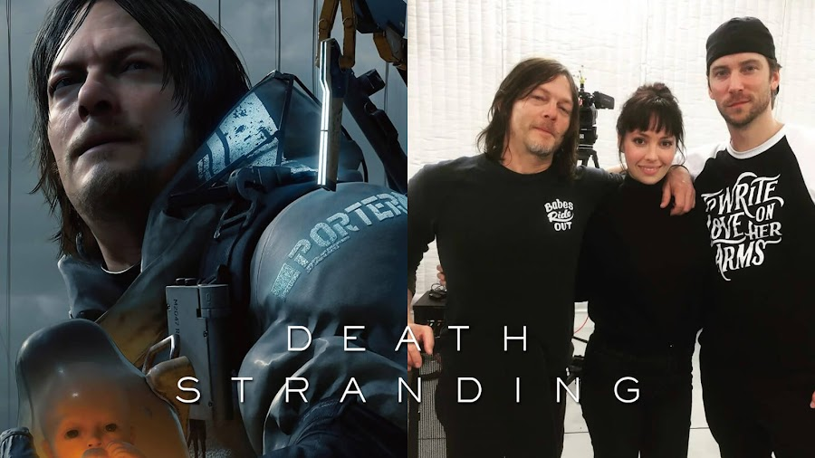 death stranding cast emily o'brien troy baker