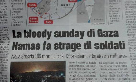 giornali-italiani-gaza-israele