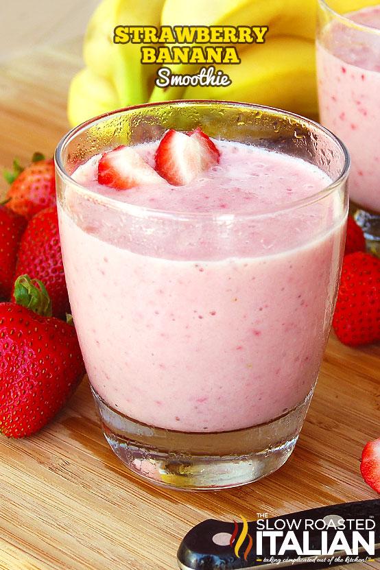 http://www.theslowroasteditalian.com/2011/09/strawberry-banana-smoothie.html